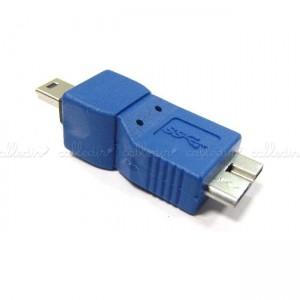 Adaptador USB 3.0 a USB 2.0 (MicroUSB-B/MiniUSB-B)