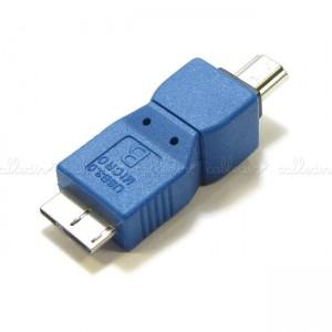 Adaptador USB 3.0 a USB 2.0 (MicroUSB-B/MiniUSB-A)