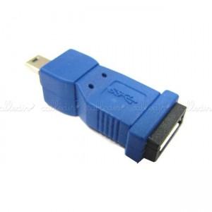 Adaptador USB 3.0 a USB 2.0 (MicroUSB-AB/MiniUSB-B)