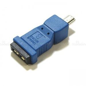 Adaptador USB 3.0 a USB 2.0 (MicroUSB-AB/MiniUSB-A)
