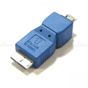 Adaptador USB 3.0 a USB 2.0 (MicroUSB-B/MicroUSB-B)