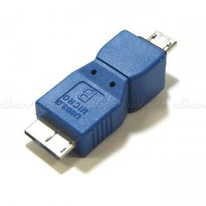 Adaptador USB 3.0 a USB 2.0 (MicroUSB-B/MicroUSB-A)