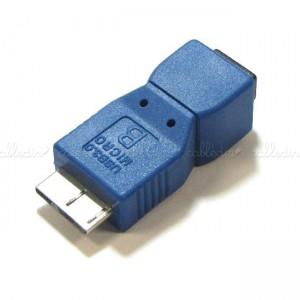 Adaptador USB 3.0 a USB 2.0 (MicroUSB-B/MicroUSB-AB)