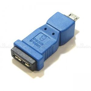 Adaptador USB 3.0 a USB 2.0 (MicroUSB-AB/MicroUSB-B)