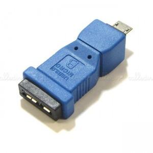 Adaptador USB 3.0 a USB 2.0 (MicroUSB-AB/MicroUSB-A)