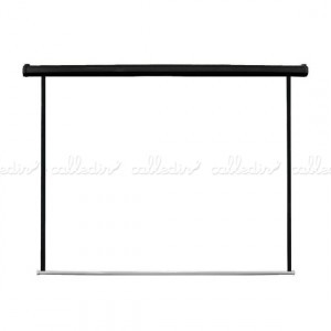 Pantalla proyector 1:1 de fibra de vidrio y motorizada para pared o techo