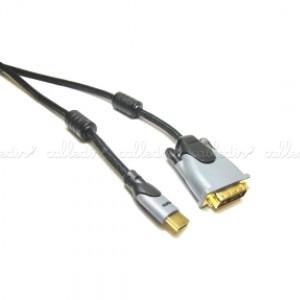 Cable HDMI de tipo HDMI-A macho a DVI-D macho de alta calidad