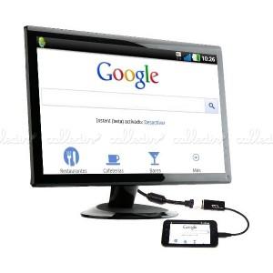 Adaptador MHL a HDMI de 20 cm