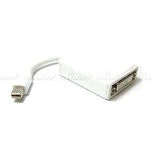Adaptador mini DisplayPort a DVI (MiniDP-M/DVI-D-H)