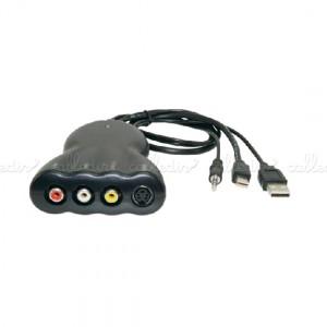 Adaptador mini DisplayPort a Video Compuesto y S-Video