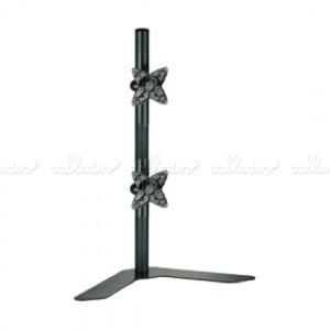 Soporte de mesa para 2 pantallas VESA 75/100 en vertical