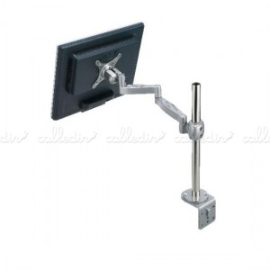 Soporte doble brazo articulado para monitor VESA 50/75/100
