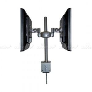 Soporte brazo articulado para 2 monitores opuestos VESA 50/75/100