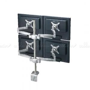 Soporte brazo articulado para 4 monitores VESA 50/75/100
