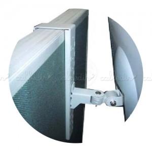 Soporte articulado de monitor VESA 75/100 para biombos o separadores