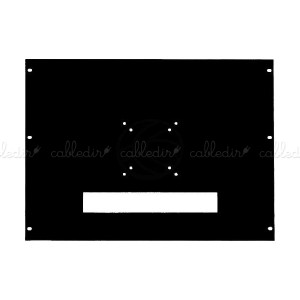 Soporte de monitor en rack de 8U VESA 75/100