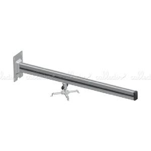 Soporte de pared para proyector de brazo de 13 cm a 100 cm cuadrado