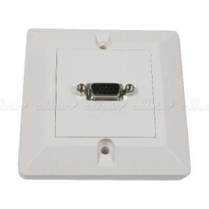 Caja de pared o canaleta de 80x80 con 1 VGA