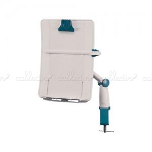 Soporte para documentos con brazo articulado y ergonómico