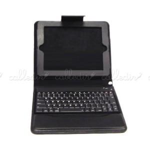 Cartera para iPad con teclado Bluetooth de membrana