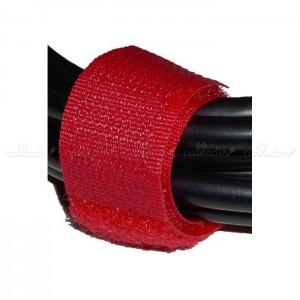 Tira velcro ordena cables 20x160 mm (100 uds) en varios colores