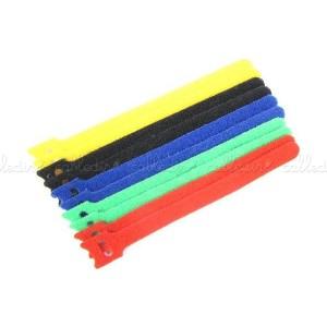 Tira ordena cables KSS (10 unidades) multicolor