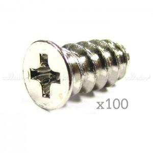 Tornillería para ventilador 5x10 mm (100 uds)