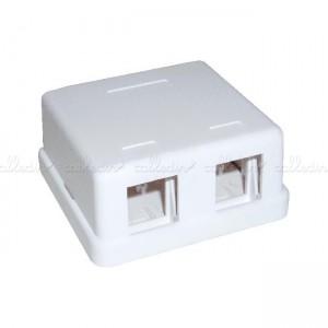 Caja de conexión universal de 2 zócalos compatible TB-110