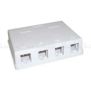 Caja de conexión universal de 4 zócalos compatible TB-110