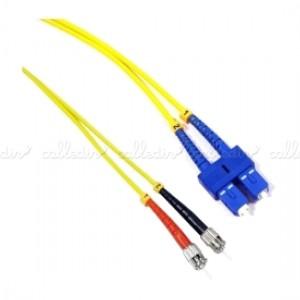 Cable de fibra óptica monomodo duplex 9/125 PC