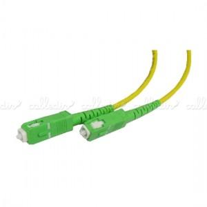 Cable de fibra óptica monomodo simplex 9/125 APC