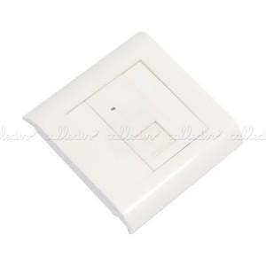 Caja de pared o canaleta de 80x80 con 1 RJ45 UTP Cat. 5e 568B