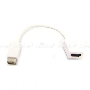 Adaptador Mini-DVI macho a HDMI-A hembra