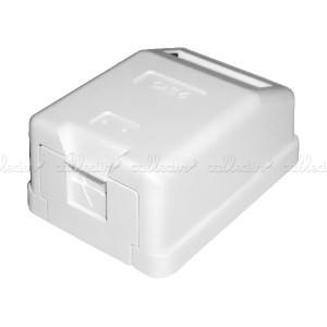 Caja de superficie de 1 RJ45 Cat. 6 FTP