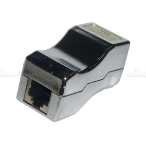 Empalme de cable FTP de categoría 6 RJ45 H/H