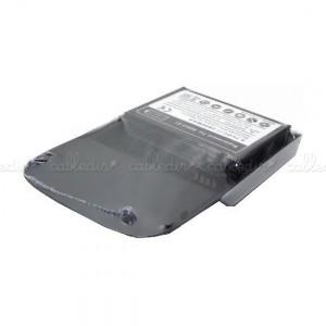 Batería compatible BlackBerry 9800 extendida con tapa y deco
