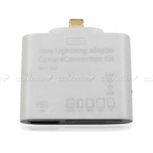 Adaptador Apple Lightning a USB SD MS MMC M2 TF y tarjetas de memoria