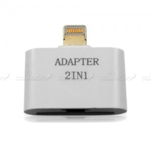 Adaptador Apple Lightning a microUSB y Apple 30pin