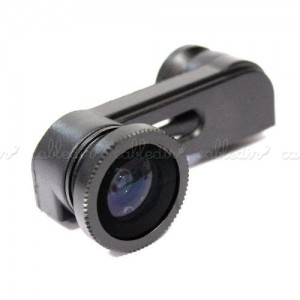 Lentes objetivo 3-en-1 para iPhone 5 óptica desplazada para cámara de fotos