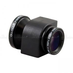 Lentes objetivo 3-en-1 para iPhone 4 4S para cámara de fotos