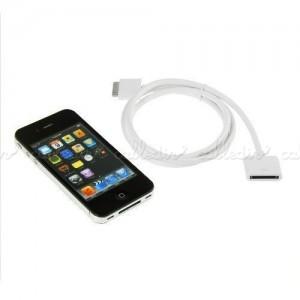 Cable alargador de conector Apple iPod, iPhone y iPad 50 cm