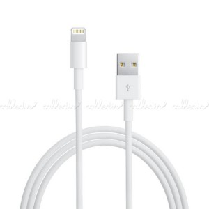 Cable de sincronización y carga compatible con Apple Lightning (USB 1m)