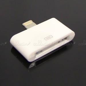 Adaptador compatible con Apple 30pin hembra a Lightning 8pin macho