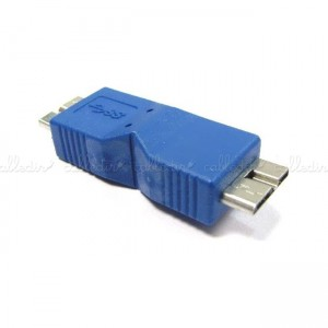 Adaptador USB 3.0 (MicroUSB-B/MicroUSB-B)
