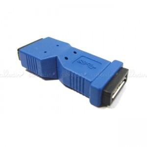 Adaptador USB 3.0 (MicroUSB-AB/MicroUSB-AB)